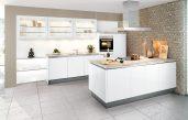 Moderne Küche Hochglanz Weiss