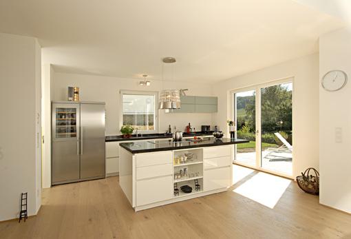 Moderne Küche Kochinsel Glänzend On Modern Mit Offene Info 9