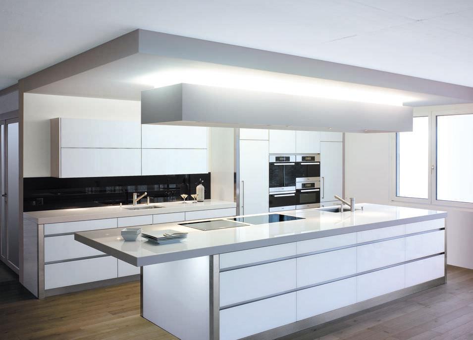 Moderne Küche Kochinsel Kreativ On Modern Und Mineralwerkstoff GERMANY By Brunner 4