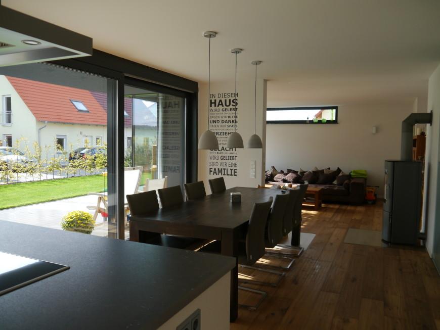 Moderne Küche Mit Essecke Und Wohnzimmer Schön On Modern überall Kuche For Designs Linie 3