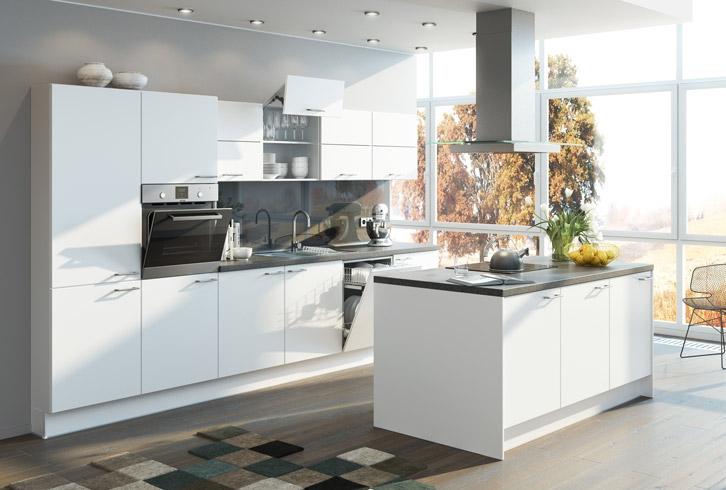 Moderne Küche Mit Kleiner Insel Ausgezeichnet On Modern Auf Kuche Für Schneiden Zusammen Oder In 6