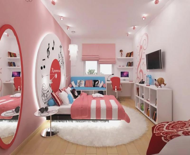 Moderne Luxus Jugendzimmer Mädchen Einfach On Modern Mit Beeindruckend 5