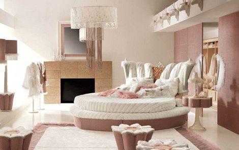 Moderne Schlafzimmer 2015 Interessant On Modern Und Luxus Altrosa Mit Rundbett Zimmergestaltung 7