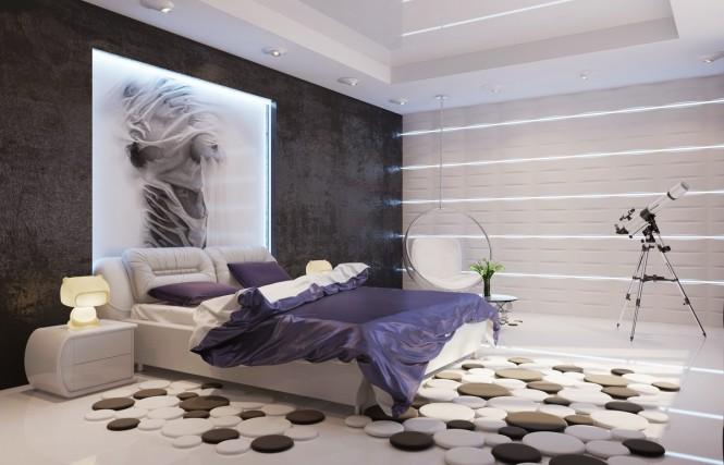 Moderne Schlafzimmer Ideen Charmant On Modern überall Für 9