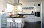 Moderne Weiße Küchen Mit Theke