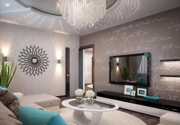 Moderne Wohnzimmer Einzigartig On Modern Innerhalb Ideen Modernes For Designs Layouts 4