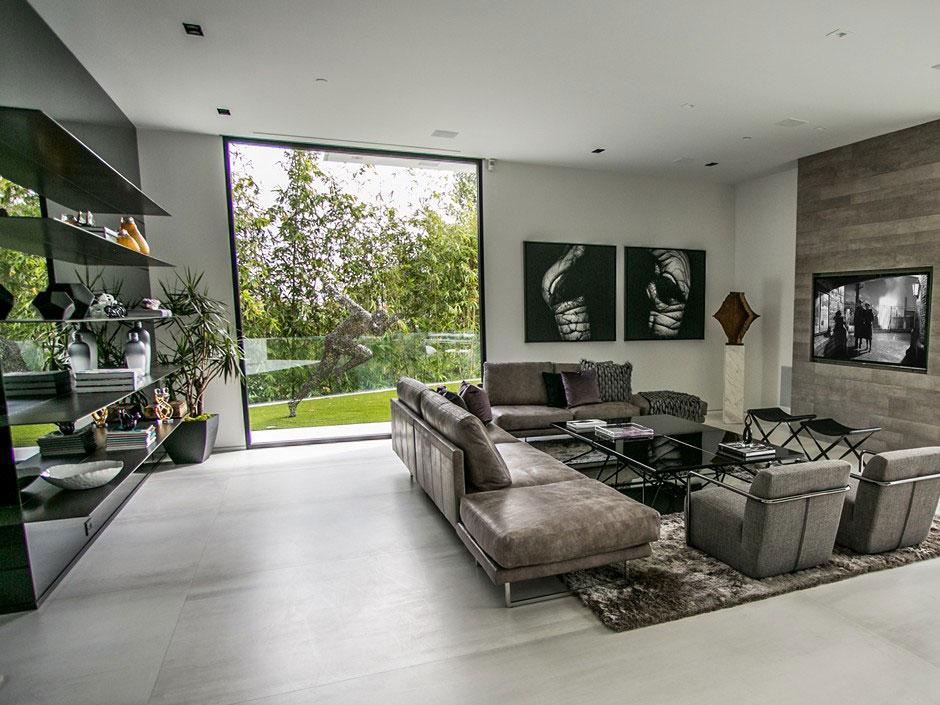 Moderne Wohnzimmer Fein On Modern In Endet Schön Zum Modernes Gestalten 81 2
