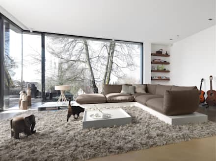 Moderne Wohnzimmer Nett On Modern Mit Modernes Bilder Für Bemerkenswert Fur 3