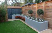 Moderner Garten Sichtschutz