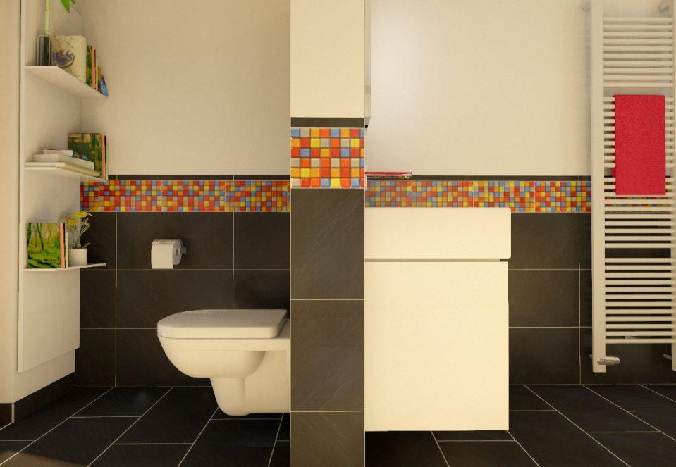 Modernes Bad Bunt Einzigartig On Modern überall Uncategorized Kleines Mit Badezimmer Fliesen 7