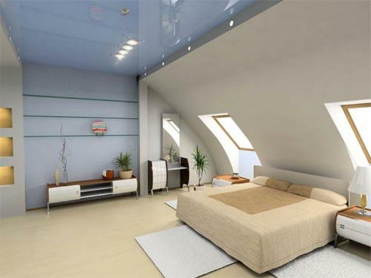 Modernes Einrichten Dachgeschoss Ausgezeichnet On Modern Beabsichtigt Andere Angenehm Perfekt 9