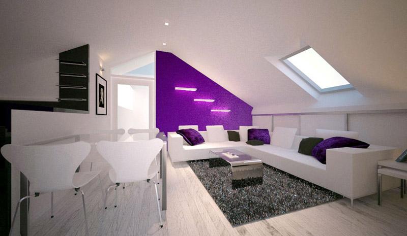 Modernes Einrichten Dachgeschoss Exquisit On Modern Innerhalb Wohnzimmer Govconip Com 2