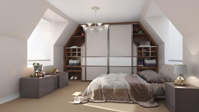 Modernes Einrichten Dachgeschoss Fein On Modern Beabsichtigt Ein Optimales Und Charmantes Innendesign 3