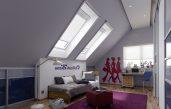 Modernes Einrichten Dachgeschoss