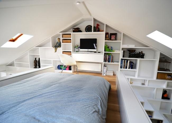 Modernes Einrichten Dachgeschoss Unglaublich On Modern Beabsichtigt Andere 1