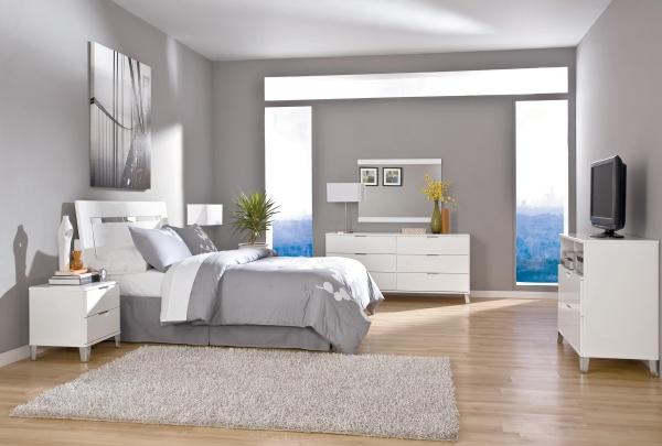 Modernes Schlafzimmer Weiß Ausgezeichnet On Modern überall Weiss Hayesandyband Com 9