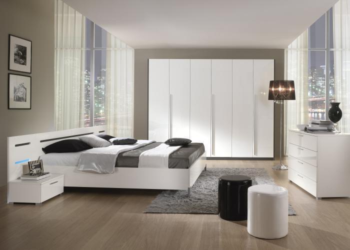 Modernes Schlafzimmer Weiß