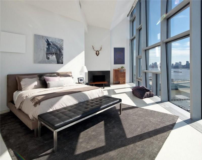 Modernes Schlafzimmer Weiß Perfekt On Modern Und Weiss Hayesandyband Com 5