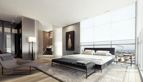 Modernes Schlafzimmer Weiß Schön On Modern In Bezug Auf Einrichten 99 Schöne Ideen Archzine Net 2