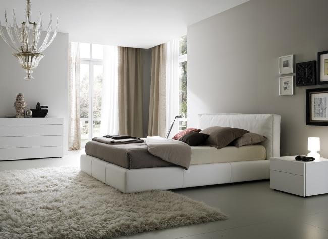 Modernes Schlafzimmer Weiß Zeitgenössisch On Modern Für 105 Wohnideen Designs In Diversen Stilen 4