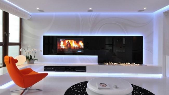 Super Modernes Wohnzimmer Schwarz Weiß | Thand.info EE89