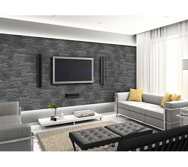 Natur Wand Im Wohnzimmer Bemerkenswert On überall Fur Awesome Photos House Design Ideas 4