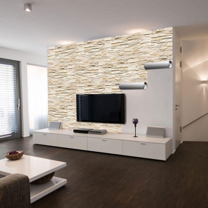 Natur Wand Im Wohnzimmer Einfach On Mit Entscape Com 5