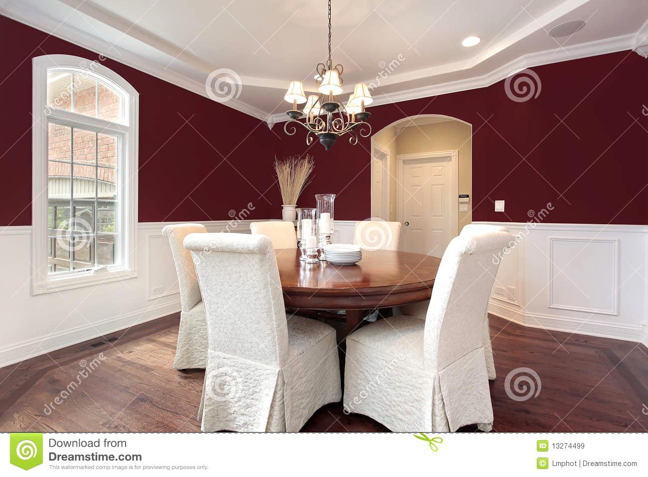 Rote Wand Esszimmer Exquisit On Andere Mit Uncategorized Moderne Dekoration Bank Polster Und 5