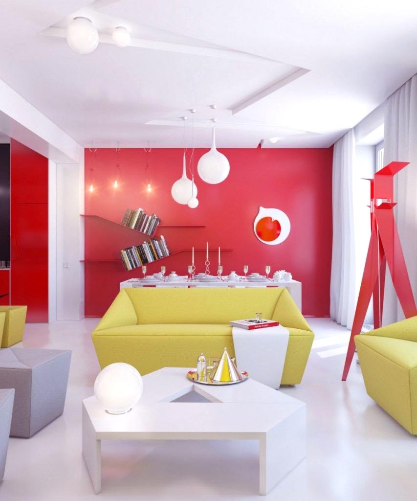 Rote Wand Esszimmer Unglaublich On Andere Beabsichtigt Uncategorized Moderne Dekoration Bank Polster Und 9