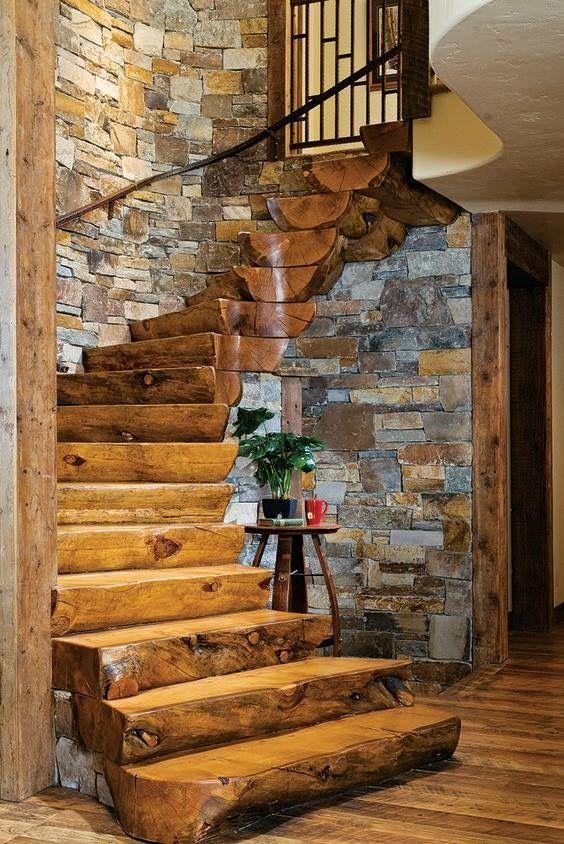 Rustikale Wohnideen Modern On Ideen Mit 112 Besten Rustic Stairs Bilder Auf Pinterest Treppe 4