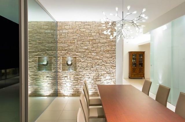 Sandstein Wohnzimmer Modern On Für Reizend Auf Gestaltung Zu Rustikal 2