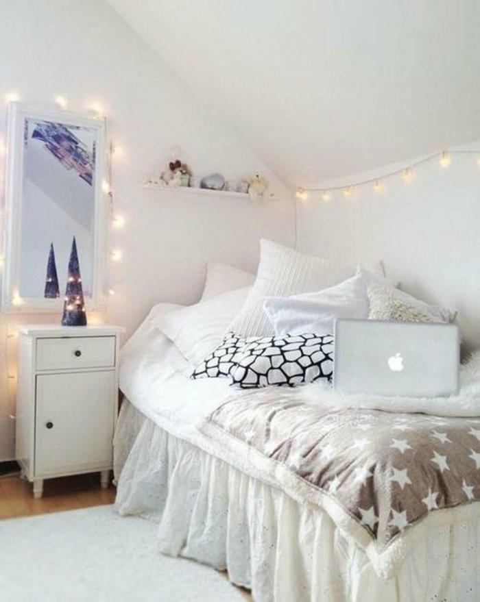 Schlafzimmer Deko Lichterkette Modern On In Bezug Auf 49 Ideen Für Dekoration Mit Party Archzine Net 2