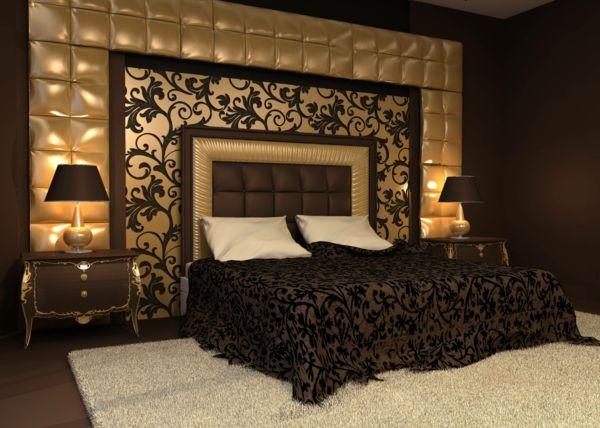 Schlafzimmer Gold Unglaublich On Mit Fein Für Amocasio Com 2