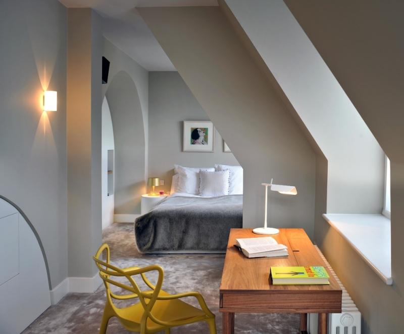 Schlafzimmer Ideen Mit Schrägen Bemerkenswert On Dachschräge Gestalten 23 Wohnideen 7
