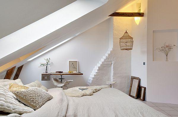 Schlafzimmer Ideen Mit Schrägen Einfach On Innerhalb Dachschräge Gemütlich Gestalten FresHouse 2