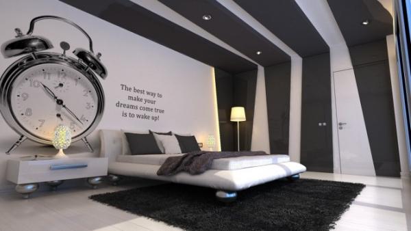 Schlafzimmer Ideen Wandgestaltung Kreativ On überall 40 Coole Für Effektvolle 1