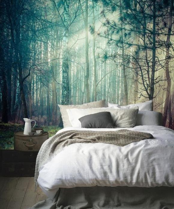 Schlafzimmer Ideen Wandgestaltung Nett On Mit Die Besten 25 Auf Pinterest 7