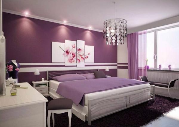 Schlafzimmer In Lila Zeitgenössisch On Innerhalb Streichen For Designs Zimmer Weis Nummer Eins 7