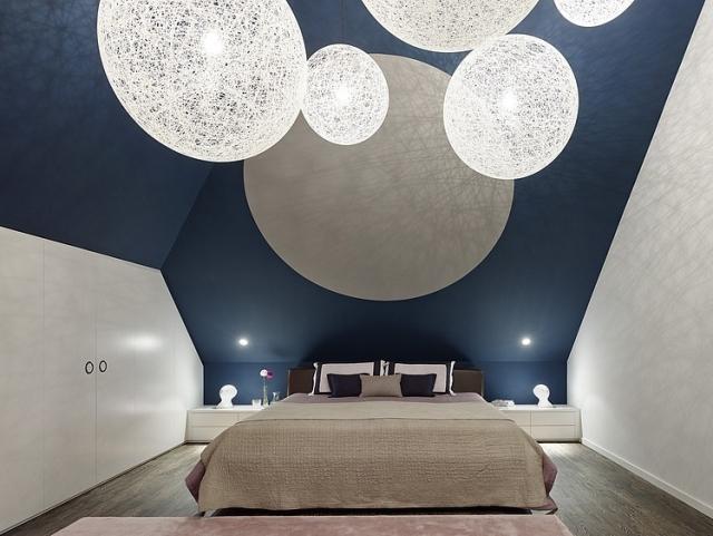 Schlafzimmer Modern Wandschräge Großartig On In Bezug Auf Gestalten 130 Ideen Und Inspirationen 6