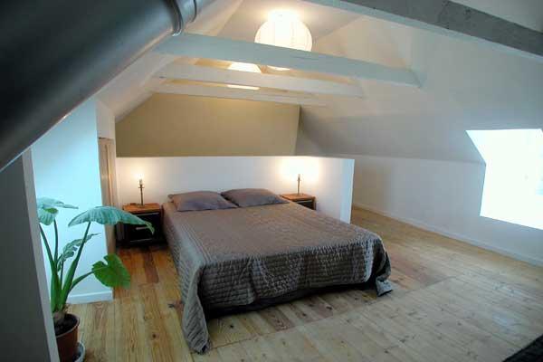 Schlafzimmer Unterm Dach Einfach On Und Foto Ferienhaus Frankreich Bretagne Finistere Plovan 2