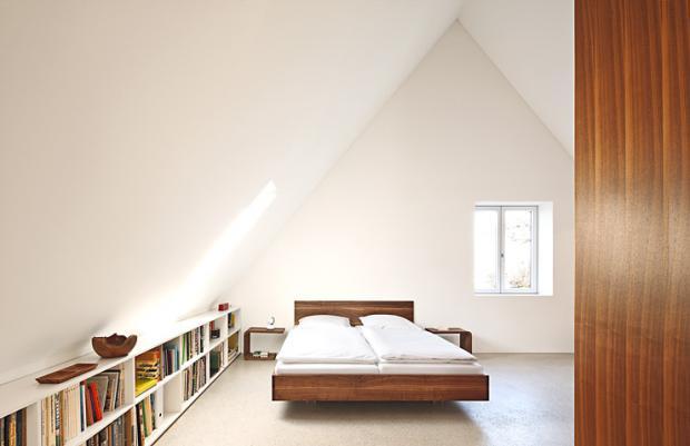 Schlafzimmer Unterm Dach Exquisit On Für Geräumiges Bild 6 1