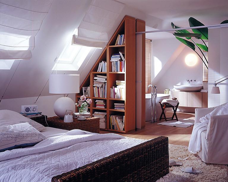 Schlafzimmer Unterm Dach Glänzend On Innerhalb Für Wellness Fans Schlaf Und Badezimmer Bild 4 9