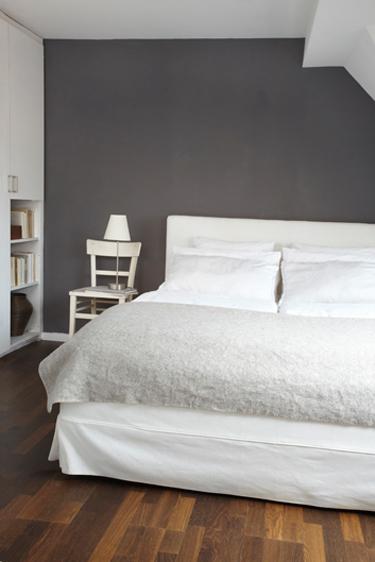 Schlafzimmer Wand Grau Einfach On Innerhalb Für Bescheiden Ideen Auf Robelaundry Com 3