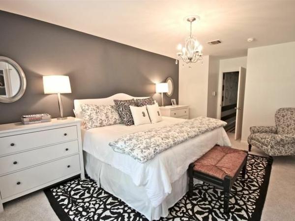 Schlafzimmer Wand Grau Wunderbar On Und Wandfarbe 29 Ideen Für Die Perfekte Hintergrundfarbe In 8