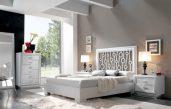 Schlafzimmer Wandgestaltung Mit Weißen Möbeln