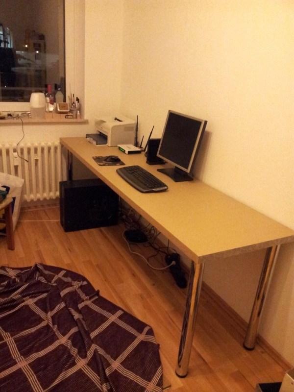 Schreibtisch Bauen Arbeitsplatte Einfach On Andere Beabsichtigt Selber Bestimmt Für Uncategorized 5