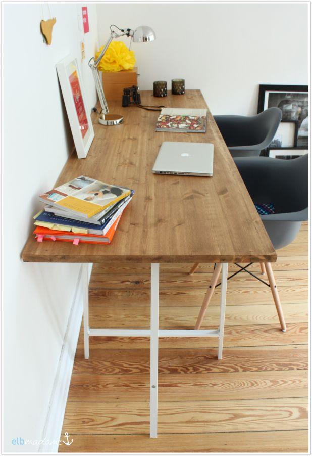 Schreibtisch Bauen Arbeitsplatte Interessant On Andere überall Klein Haus Thema Von Die Besten 25 Selbst Ideen 6