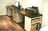 Schreibtisch Bauen Arbeitsplatte