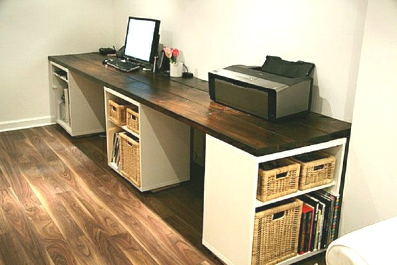 Schreibtisch Bauen Arbeitsplatte Unglaublich On Andere Innerhalb Selber Plus Faszinierend Küchen 0