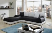 Schwarz Weiß Sofa